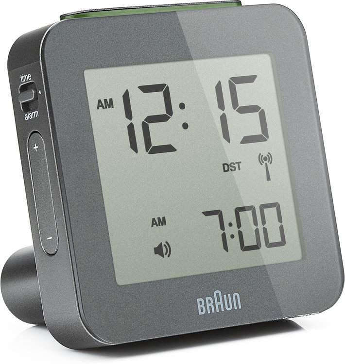 Braun digital clocks – BNC009GYGY – RC - wekker antraciet