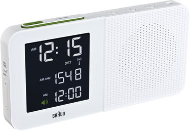 Braun digital clocks – BNC010WH-SRC wit wekkerradio