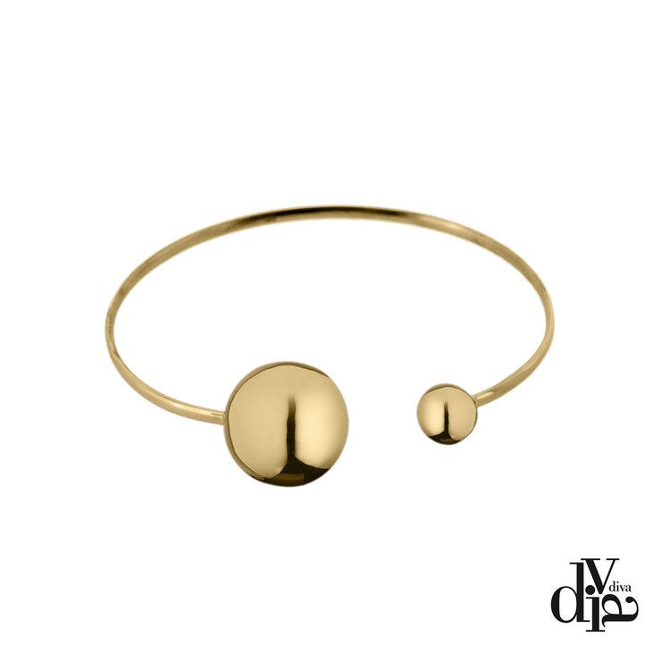 Diva Armband Eclisse Goud Hoogglans
