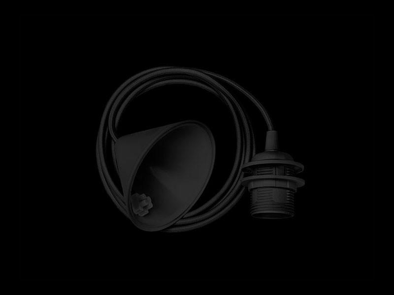Vita 04005 Aansluitsnoer en fitting hang zwart