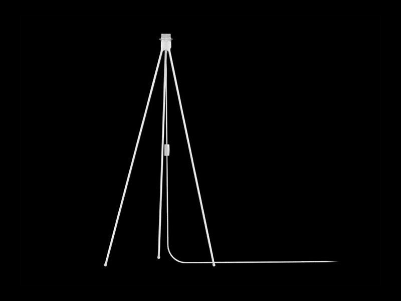 Vita Driepoot vloerstand met fitting mat wit