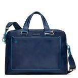 Double handle computer portfolio briefcase