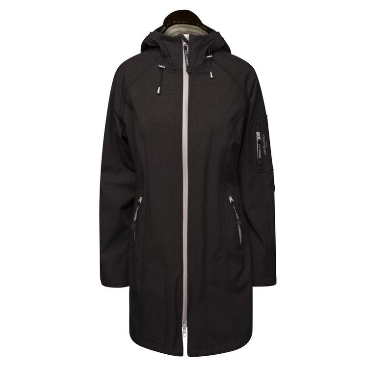 Ilse Jacobsen Rain Coat 37B 001151 Black/Sand