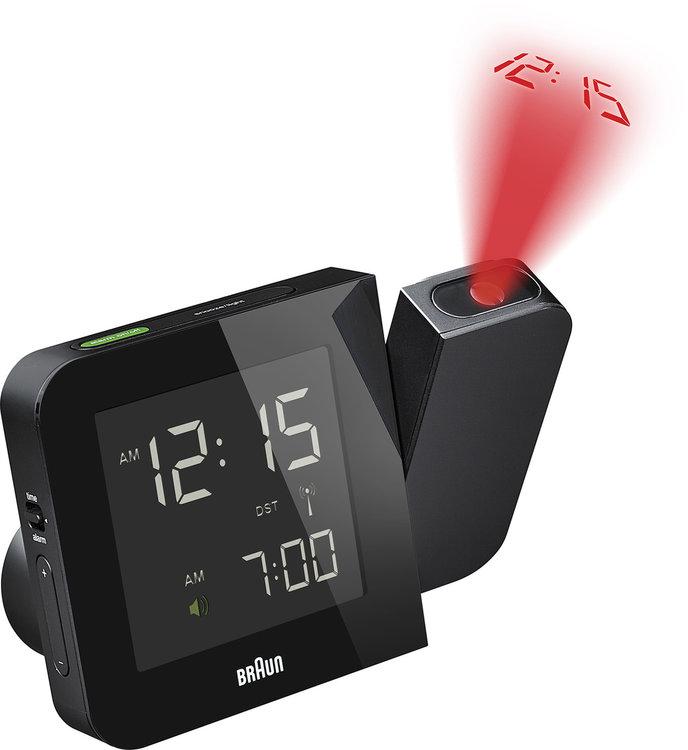 Braun digital clocks – BNC015BK-RC – projectieklok zwart