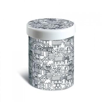 Remember Porcelain Tin Urbino