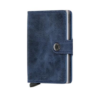 Secrid Miniwallet Vintage Bleu