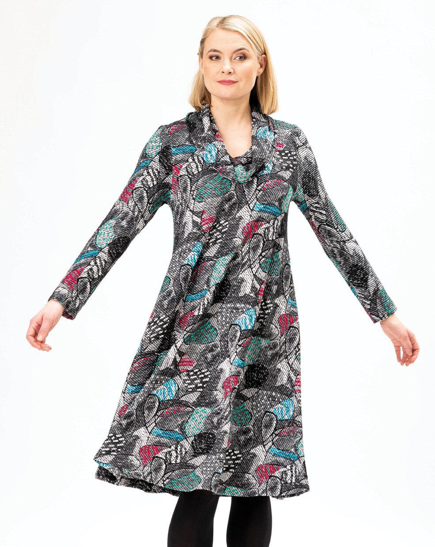 Aïno kleding, Jurk Caron Fynbos print