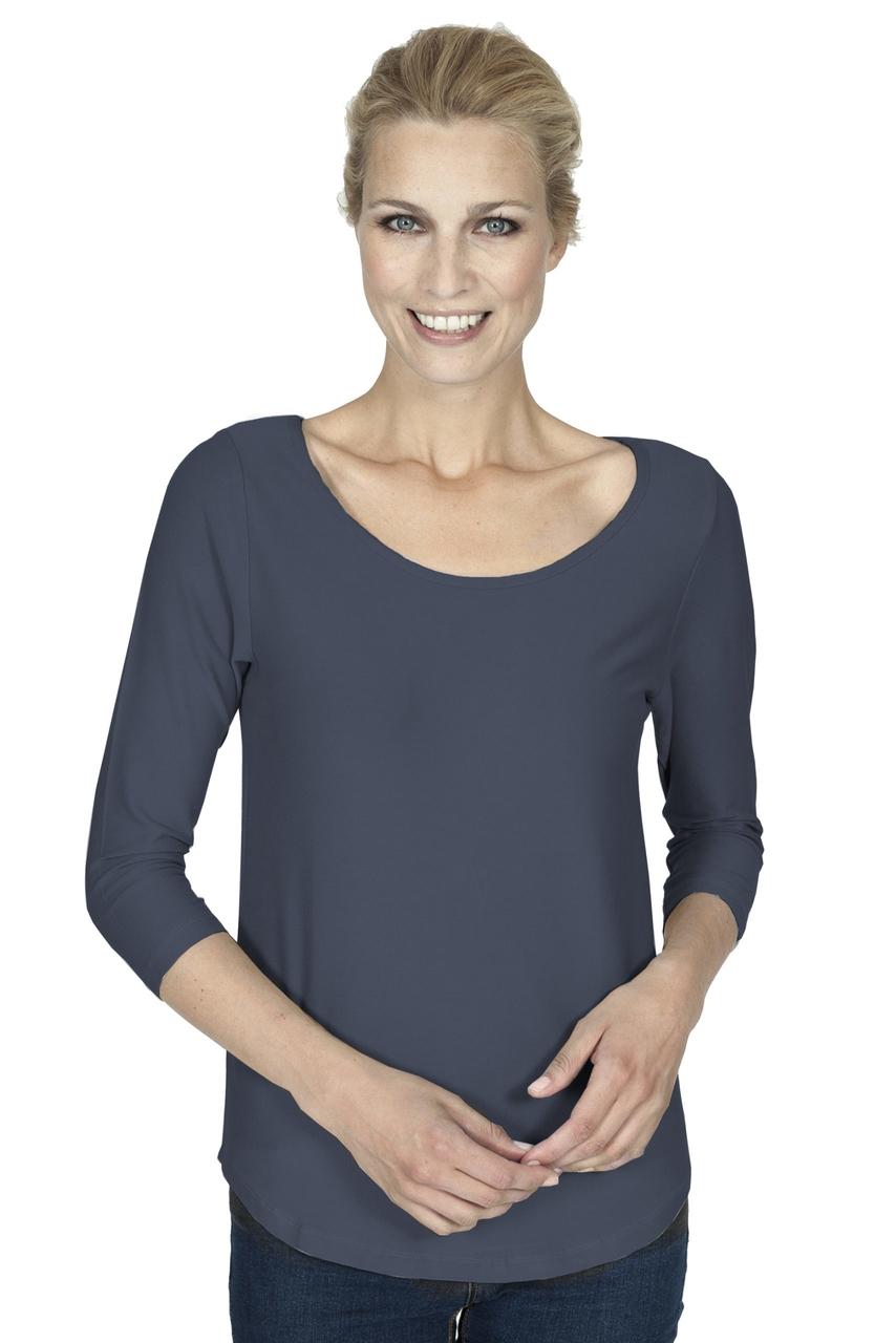 Slippely shirt Jolie zwart