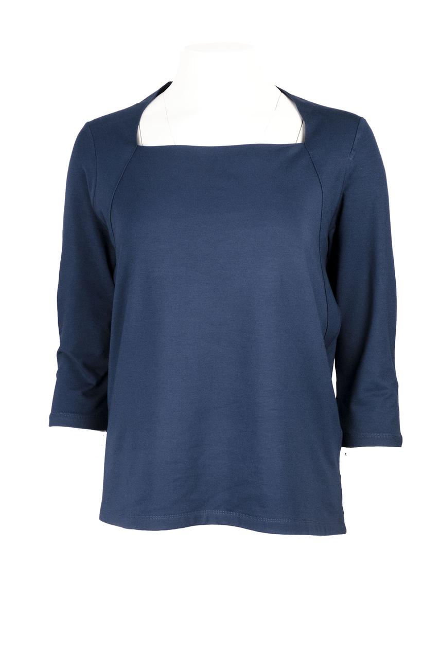Slippely shirt Stephanie donkerblauw