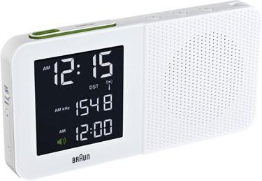 Braun digital clocks – BNC010WH-SRC wit wekkerradio