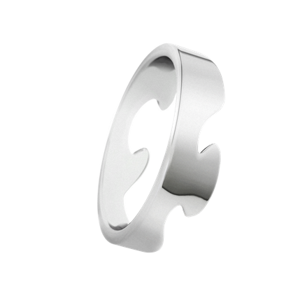 Fusion Ring Silver