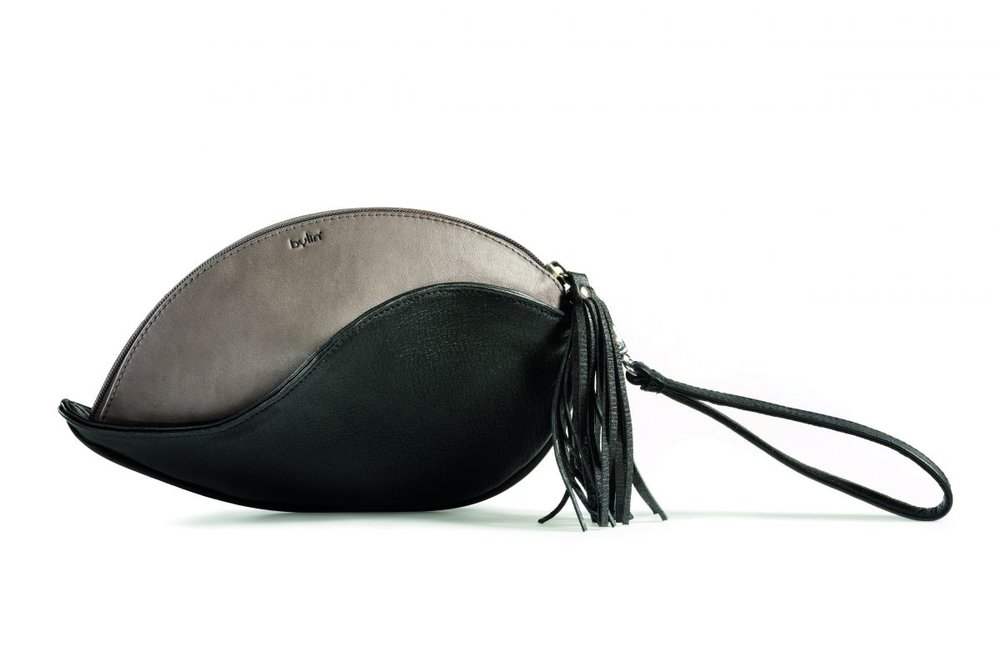 Bylin Heliconia Clutch Black and Grey