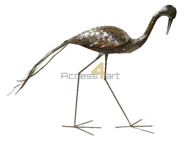 Blauwe kraanvogel lopend BBCW