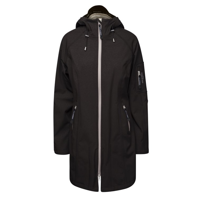 Ilse Jacobsen Rain Coat 37B 001151 Black/Sand