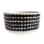 Marimekko servies Oiva kom wit/zwart 5 dl 063300-190