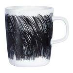 Marimekko servies Oiva beker wit/zwart 2,5 dl 066013