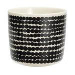 Marimekko servies Oiva koffiekop wit/zwart 2 dl 063291-190