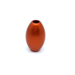 Otracosa kraal olijf rond oranje K7 2,3 cm