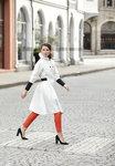 Blaest regenjas model Barcelona wit