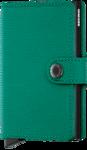 Secrid Miniwallet MC Crisple Emerald portemonnee