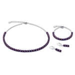 Coeur de Lion Ketting 4777/ /0800 Purple
