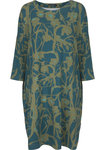 Two Danes Botelle Tunic Atlantic/Faded Green/Jade 93662-P989