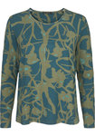 Two Danes Betty T-shirt Atlantic/Faded Green/Jade 95532-P989