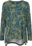 Two Danes Birka T-shirt Atlantic/Faded Green/Jade 95552-P989