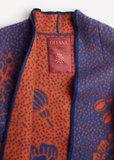 Oleana Soft may coat 509E Blue carrot_