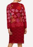 Oleana Cardigan 333 R rood_