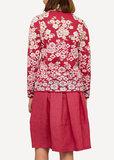 Oleana Cardigan 332 AV donker rose/licht rose_