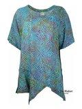 Unikat Artwear kleding shirt violett_