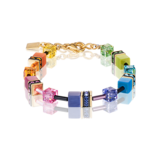 Coeur de Lion Armband 2838/ /1573 Multicolor Rainbow-Gold 2_