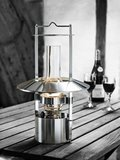 Stelton Scheepslamp RVS, 43 x 27 cm_