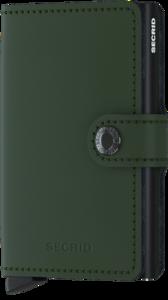 Secrid Miniwallet M Matte Green Black portemonnee