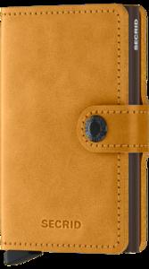 Secrid Miniwallet MV Vintage Ochre portemonnee