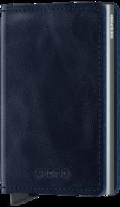 Secrid Slimwallet S Vintage Blue portemonnee