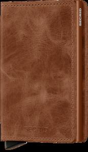Secrid Slimwallet S Vintage Cognac Rust portemonnee