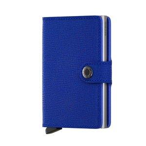 Secrid Miniwallet M Crisple Cobalt portemonnee