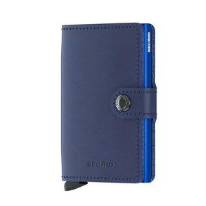 Secrid Miniwallet M Original Navy Blue portemonnee