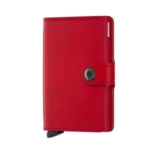 Secrid Miniwallet M Original Red Red portemonnee