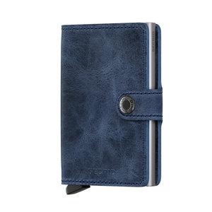 Secrid Miniwallet MV Vintage Bleu portemonnee