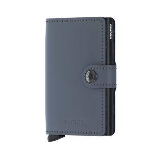 Secrid Miniwallet M Matte Grey Black portemonnee