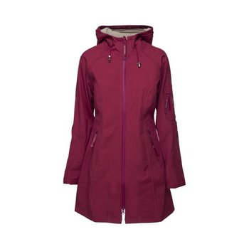 Ilse Jacobsen Rain Coat 37 Cherry/Light Sand