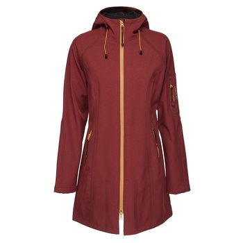 Ilse Jacobsen Rain Coat 37B 386001 Brik Red/Black