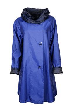 Herluf jas Storm twee zijden draagbaar cobalt blauw