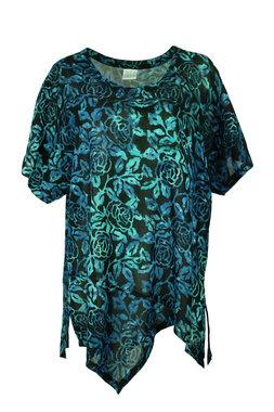 Unikat Artwear kleding shirt 151 houtskool zwart