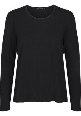 Two Danes Betty shirt lange mouw zwart 25511-299
