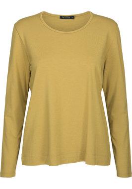 Two Danes Betty shirt lange mouw okergeel 25511-227