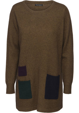 Two Danes trui Yes Sweater mosterd geel 25092-228